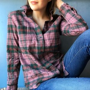 Madewell • Classic Fall Flannel Button Down
